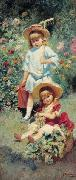 Konstantin Makovsky Children of the Artist, oil painting picture wholesale